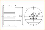 Embalatge Railfil bobina de fusta 2
