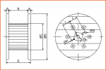 Embalatge Railfil bobina de fusta