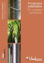 Tin coated catalogue