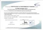 Certificado cables (péndolas) CuMg