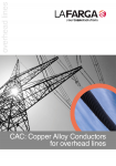 CAC (Copper Alloy Conductor) for overhead lines Catalogue
