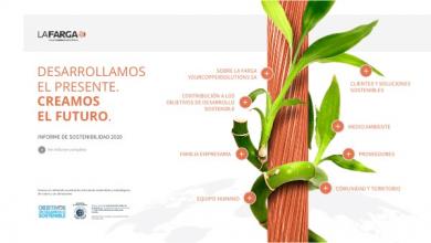 Infographic -  Rapport de Développement Durable 2020
